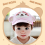หมวกแก๊ป หมวกเด็กแบบมีปีกด้านหน้า ลายลิงน้อย (มี 3 สี) thumbnail 3