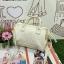 Anello polyester 2 way mini boston bag No.6 white รุ่นใหม่ล่าสุดจากแบรนด์ดังในประเทศญี่ปุ่น กระเป๋าสไตล์คลาสสิค มีโครงปากกระเป๋ากว้างเป็นสัญลักษณ์ วัสดุหนังpu กันน้ำได้ thumbnail 2