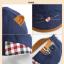 หมวกเด็ก หมวกเบเร่ต์-ลายแมว (มี 4 สี) thumbnail 23