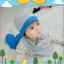 AP187••เซตหมวก+ผ้ากันเปื้อน•• / เมฆ [สีเทา] thumbnail 1