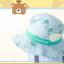 HT496••หมวกเด็ก•• / หมวกปีกกว้าง-บอลลูน (สีฟ้า) thumbnail 3