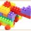 ของเล่นบล็อคตัวต่อเลโก้ชิ้นใหญ่สำหรับเด็กเล็กวัย 2-5 ปี แบบถังหิ้ว 180 ชิ้น thumbnail 8
