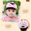 หมวกแก๊ป หมวกเด็กแบบมีปีกด้านหน้า ลายหมีสกรีนสามเหลี่ยม (มี 4 สี) thumbnail 13
