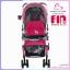 รถเข็นเด็ก fin babies plus สีชมพู ปรับโยกได้ พร้อมมุ้งกันยุง thumbnail 4