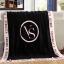 ผ้าห่ม Victoria's Secret Blankets Premium Gift ลายดำชมพู thumbnail 5