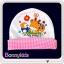 หมวกเด็กแรกเกิด พิมพ์ลายการ์ตูนน่ารัก (ขายแพ็ค 6 ใบ) thumbnail 2