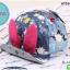 หมวกแก๊ปยีนส์ หมวกเด็กแบบมีปีกด้านหน้า ลายกระต่าย thumbnail 1