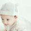 หมวกแก๊ป หมวกเด็กแบบมีปีกด้านหน้า ลายขนตา (มี 2 สี) thumbnail 2