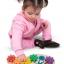 จิ๊กซอตัวหนอนจับคู่สี สร้างเฟืองหมุนต่อกัน Rainbow Caterpilar Gear Toy thumbnail 6
