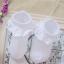 ถุงเท้าระบายลูกไม้เด็กหญิงข้อสั้น มีสีขาว/ชมพู Size 2-4 / 3-5 thumbnail 7