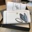 NEW! LYN Long Wallet กระเป๋าสตางค์ใบยาวซิปรอบรุ่นใหม่ล่าสุดวัสดุหนัง Saffiano สวยหรูสไตล์ PRADA ด้านหน้าประดับลายใบไม้ดูมีดีเทล thumbnail 8