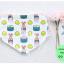 ผ้าซับน้ำลายสามเหลี่ยม ผ้ากันเปื้อนเด็ก [ผืนเล็ก] / Sushi thumbnail 1