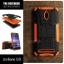 เคส Zenfone GO (ZC500TG) กรอบบั๊มเปอร์ กันกระแทก Defender สีส้ม (เป็นขาตั้งได้) thumbnail 1