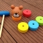 ตุ๊กตาค้อนตอกหมีไม้ ของเล่นทาวเวอร์สีรุ้ง thumbnail 2