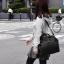 กระเป๋าเป้ ANELLO 2 WAY PU LEATHER BOSTON BAG (Regular)-----Pure Black thumbnail 2