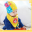 AP108••เซตหมวก+ผ้ากันเปื้อน•• / [สีเหลือง] น้องหมี thumbnail 3