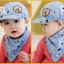 หมวกแก๊ปและผ้ากันเปื้อน Where Are We Going? Dad! เด็ก 3-24 เดือน thumbnail 3