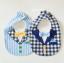 ผ้าซับน้ำลายปลายโค้ง ผ้ากันเปื้อนเด็ก แบบหน้าคอตตอน-หลังขนหนู / ลายเนคไท, หูกระต่าย (มี 5 ลาย) thumbnail 8