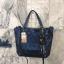 กระเป๋าสะพาย David Jones Metallic Deep Blue ราคา 1,690 บาท Free ems thumbnail 2