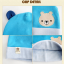 เซตหมวก+ผ้าซับน้ำลาย / ลายหมีน้อย (มี 5 สี) thumbnail 23