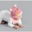 เซตหมวก+ผ้าซับน้ำลาย / ลาย Cat Baby (มี 5 สี) thumbnail 9