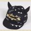 หมวกแก๊ป หมวกเด็กแบบมีปีกด้านหน้า ลาย Little Monster (มี 5 สี) thumbnail 10