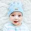 หมวกบีนนี่ หมวกเด็กสวมแบบแนบศีรษะ ลายเพชร (มี 4 สี) thumbnail 8