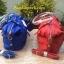 กระเป๋า MANGO NYLON HANDBAG สีแดง กระเป๋าผ้าไนล่อนเนื้อดีและหนา ทรงหมอน มาพร้อมสายสะพายยาว thumbnail 6