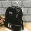 กระเป๋า Marc Newyork leather rucksack สีดำ ราคา 1,290 บาท Free ems thumbnail 3