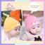 หมวกหูยาว หน้าหมี สีชมพู thumbnail 5