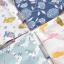 ผ้าซับน้ำลายสามเหลี่ยม ผ้ากันเปื้อนเด็ก แบบใช้ได้ 2 ด้าน / มี 4 ลาย thumbnail 13