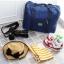 กระเป๋าเดินทางพับเก็บได้ อเนกประสงค์ เพื่อการเดินทาง ท่องเที่ยว เสียบที่จับของกระเป๋าเดินทางได้ thumbnail 8