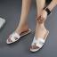 รองเท้าแตะไซส์ใหญ่ 42-43 สไตล์ H สีขาว KR0390 thumbnail 3