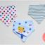 ผ้าซับน้ำลายสามเหลี่ยม ผ้ากันเปื้อนเด็ก / เซตหมีขับเครื่องบิน (3 ผืน/เซต) thumbnail 1