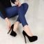 รองเท้าส้นสูงไซส์ใหญ่ Midnight Ella Platform ไซส์ 40-46 รุ่น KR0592 thumbnail 7