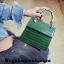 กระเป๋า Infinity Mini Croc City Bag Dark Green ราคา 890 บาท Free Ems thumbnail 1