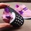 รองเท้าคัชชูเด็กเล็ก 0-2 ปี ทรงเท่ ลายพรางตาข่ายสีเขียว-ส้ม (เท้ายาว 11-13 ซม.) thumbnail 5