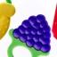 ยางกัดซิลิโคนผลไม้ DUOLADUOBU สำหรับเด็กเล็ก BPA-Free thumbnail 3