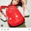 กระเป๋า Anello rucksack nylon day pack back 2017 Red ราคา 1,290 บาท Free Ems thumbnail 8