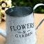 ถัง กระถางต้นไม้สังกะสีมีหูหิ้วเชือกปอ ลาย Flower & Garden thumbnail 11