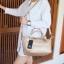 กระเป๋า KEEP Longchamp Style Duo Sister Rose Gold ราคา ใบใหญ่ 1,490 Free Ems thumbnail 9