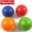 บอลลอยน้ำ เขย่ามีเสียง Fisher-Price แพค 4 ลูก 4 สี thumbnail 1