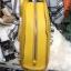 กระเป๋าสะพายเป้ ZARA Sturby Backpack With Zips 2017 สไตล์ PRADA สีเหลือง thumbnail 5