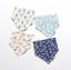 ผ้าซับน้ำลายสามเหลี่ยม ผ้ากันเปื้อนเด็ก แบบใช้ได้ 2 ด้าน / มี 4 ลาย thumbnail 12