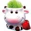 กระถางต้นไม้รูปวัว <พร้อมส่ง> thumbnail 2