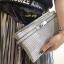 กระเป๋าคลัช แฟชั่นสไตล์ Hermes Clutch bag Snake skin หนังสวยมากค่ะ มาพร้อมสายยาว 990 ส่งฟรี ems thumbnail 7