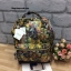 กระเป๋าเป้ Anello x Legato Largo Botanical & Cat nylon Cap fasteners Backpack Black Button รุ่นคลาสสิค thumbnail 1