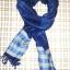ผ้าพันคอย้อมครามทอมือ Premium Gift *สินค้า Handmade 100% ราคา 490 บาท(Ems +70) Bagshopweb.com thumbnail 7