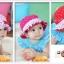 หมวกเด็กหญิง วัย 6-24 เดือน มีระบาย แต่งดอกไม้ปัก thumbnail 4