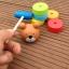 ตุ๊กตาค้อนตอกหมีไม้ ของเล่นทาวเวอร์สีรุ้ง thumbnail 4